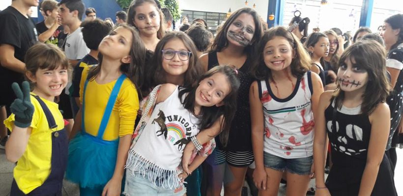 Festa do Saci e Halloween